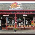 The Bar-B-Que Caboose Cafe