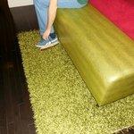 Bench/shag rug