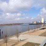 Ausblick in Richtung nördliche Weser