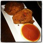 Fried Buffalo Mozzarella Balls