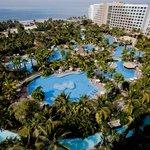 The Grand Mayan Pool Aerial