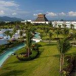 Mayan Palace Pool Aerial