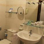 Senior Suite bathrooom - small and needs renovation