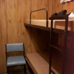 Spare room with bunks