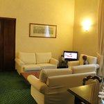 Senior suite lounge/dinning (1 view - towards tv)
