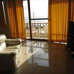 balcón de suite matrimonial con vista al mar
