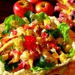 salada arco-iris