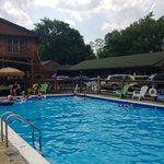 The only pub in the poconos with a pool!
