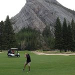 Beautiful scenic golf holes