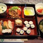 Sushi & Shoga yaki bento