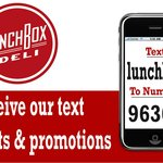 text us and get promo alerts