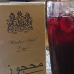 Delicious karkadai...dried hibiscus drink!