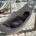 hamacas en la playa