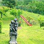 Area Giochi bimbi e giardino