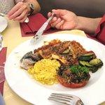 Filets de truites saumonées à la provençale