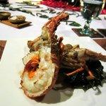My lobster on my husband's birthday dinner