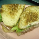Grilled Italian Combo on Homemade Italian Bread