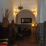 Dining area, Riad Vert
