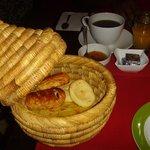 Breakfast at Riad Vert