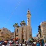 Looks at the Manger Square of Bethlehem
