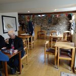 The cafe in the shop building is another dining option