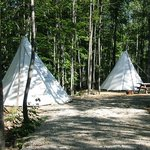 Try our new Tipi Tents instead of setting up your tent.