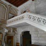 l'escalier de l'entrée