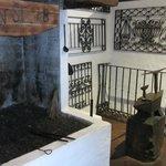 The Blacksmiths forge at the Posada