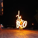 Fire-twirling
