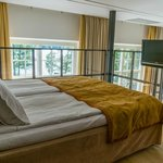 Bed loft in Room 108