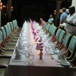 Dinner at Cassanova the night before the wedding