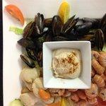 Sea~food platter