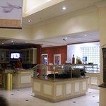 Lobby Bar & Small Restaurant Area.  Also for Breakfast.