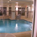 Indoor Swimming Pool and Hot Tub.