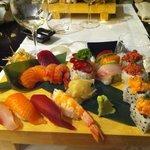 Mix Sushi/Sashimi 16 pezzi.