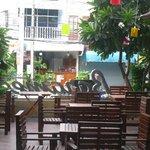 terrasse bar de l'hotel
