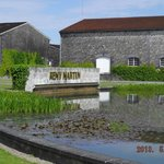 The pond at Remy Martin