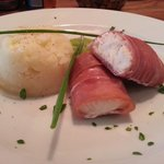 loin of cod wrapped in parma ham