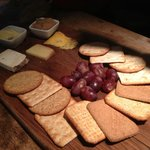Their 'artisan' cheese board in reality