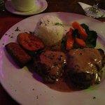 Beef filet madillion...delicious!