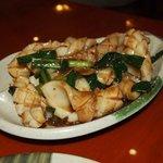 squid in ginger sauce