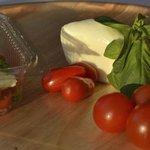 Salade tomate mozza'