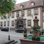 front of Hotel Drei Hasen