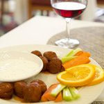 Many appetizers such as our Great Balls of Fire are available nightly!