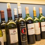 We offer many wine options including local wines!