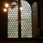 Centuries old glass windows