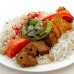Mix Shish with Rice