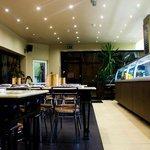 Inside Alif Grill