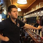 Jude the Barman. Ready to serve.