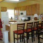 kitchen in 2 bedroom unit